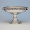 Tiffany & Co Antique Sterling Silver 'Walrus' Punch Bowl, New York City, c. 1875