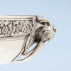 Walrus profile on Tiffany & Co Antique Sterling Silver 'Walrus' Punch Bowl, New York City, c. 1875
