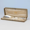 Wood & Hughes Antique Sterling Silver Fried Oyster Server, New York City, c. 1890