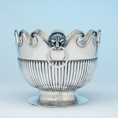Handle to McAuliffe & Hadley Sterling Silver Monteith, Boston, MA, 1914