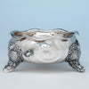 Whiting Antique Sterling Silver Nautical Bowl, NYC, NY, c. 1880's