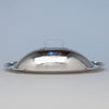 The Kalo Shops Arts & Crafts Sterling Silver Oval Covered Serving Dish, Chicago, IL, 1912-16