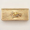 Back of Pierre Siffait French Louis XV Vari-Color Gold Snuff Box, Paris, 1755