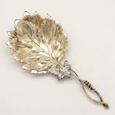 J. F. Fradley & Co Antique Sterling Silver Naturalistic Bon Bon Server, New York City, c. 1890