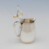 OPen Arthur Stone Associates Arts & Crafts Sterling Silver Syrup Jug, Gardner, MA, c. 1940