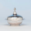 Bigelow, Brothers and Kennard Antique Coin Silver Butter Dish, Boston, c. 1860
