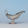 Eoff and Shepard Antique 950 Silver Gravy Boat, Boston, MA, c. 1860