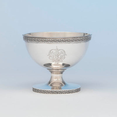 Vanderslice and Co Antique Coin Silver Bowl, San Francisco, CA, c. 1860's