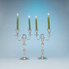 Antique Sheffield Silver Plate Pair of Candelabra, Sheffield, England, c. 1870-1800