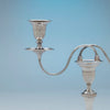 Socle to Antique Sheffield Silver Plate Pair of Candelabra, Sheffield, England, c. 1870-1800