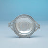 Adolphe Kunkler Sterling Arts and Crafts Dish, Boston, MA, 1903