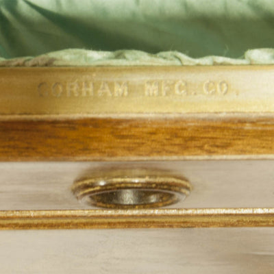 Gorham marks on Massive Gorham Presentation Case made for the John Roach Silver Service, Providence, RI, c. 1874