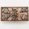 Top of Joseph Heinrichs Copper and Silver Arrowhead Blotter, New York City, c. 1910