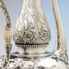 Exotic detail on Gorham Antique Sterling Silver 'Sample' After-Dinner Coffee Pot, Providence, RI, 1896