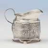 Creamer detail of Tiffany & Co Antique Sterling Silver Dessert Creamer and Sugar, New York City, 1883-91