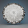 Antique Sheffield Plate Massive Round Waiter belonging to the Duke of Bolton, Sheffield, c. 1830