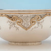 Applied gold on The Sweetser Company Sterling and 14k Gold Centerpiece Bowl, NYC, NY, 1906-1920