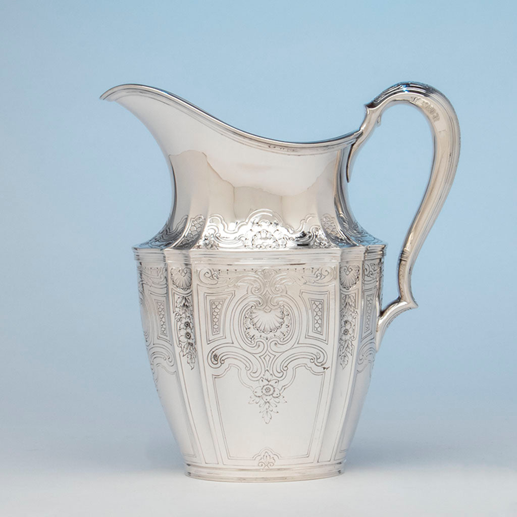 Tiffany and Co. Antique Sterling Silver Pitcher, NYC, NY, c. 1910