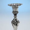 Socle to Howard & Co Antique Sterling Silver Candlesticks, New York, 1896, set of 4