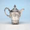 Seymour Hoyt Antique Coin Silver Creamer, New York City, c. 1840