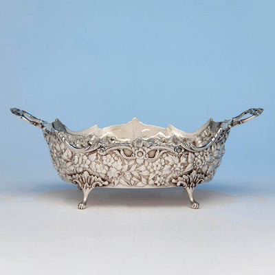Andrew E. Warner 11oz Silver Bread or Fruit Basket, Baltimore, c. 1850s