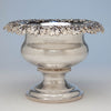 Thibault & Brothers Antique Coin Silver Presentation Centerpiece or Punch Bowl, Philadelphia, 1828