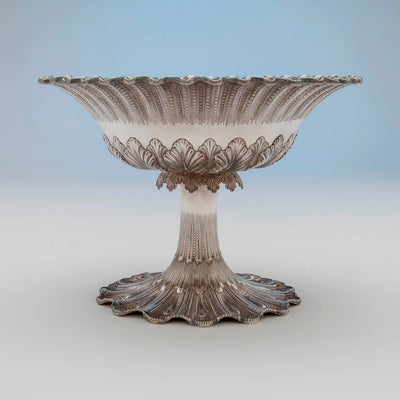 Side of George Sharp for Bailey & Co Antique Sterling Silver Centerpiece Bowl, Philadelphia, PA, c. 1865