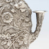 Detail of Loring Andrews Antique Sterling Silver Repoussé Vase, Cincinnati, OH, 1895-1903