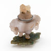 Tio view of Eleder-Hickok Co Sterling Mounted Japanese Agate Inkwell, Newark, NJ, c. 1920's