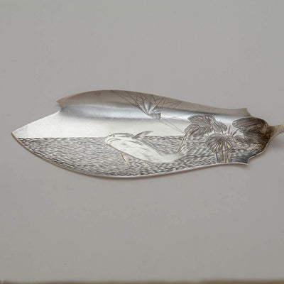 Blade to Caldwell, JE & Co Antique Sterling Fish Server, Philadelphia, PA, 1883