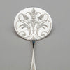 Blade to Peter Krider Antique Coin Silver Pancake Server, Philadelphia, PA, c. 1860