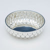 Bowl of Henry Petzal Modern Sterling Silver and Lapis Covered Bowl, Shrewsbury, New Jersey, 1980