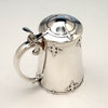 Top of Shreve & Co 'Fourteenth Century' Sterling Silver Covered Tankard, San Francisco, c. 1909