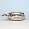 James T. Woolley Arts & Crafts Sterling Silver Porringer, Boston, 1939