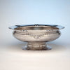 The Kalo Shop Arts & Crafts Sterling Silver Hand Wrought Large Centerpiece/ Punch Bowl, Chicago, IL, 1929-34