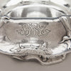 Monogram on Gorham Martelé .9584 Silver Antique Centerpiece Bowl signed by William C. Codman, Providence, RI, 1913