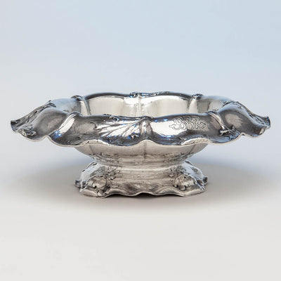 Gorham Martelé .9584 Silver Antique Centerpiece Bowl signed by William C. Codman, Providence, RI, 1913