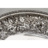 Border to S. Kirk & Son 11oz Silver Antique Bread or Fruit Tray, Baltimore, MD, 1880-90
