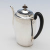 Handle to McAuliffe & Hadley Sterling Silver Arts & Crafts Coffee Set, Boston, Ma, first half 20th century