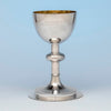 George Sharp for Bailey & Co.,  Large Antique Sterling Silver Chalice, Philadelphia, c. 1867