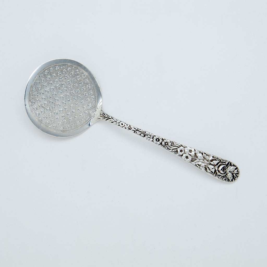 S. Kirk and Son American Silver Pancake Server, Baltimore, MD, c. 1855
