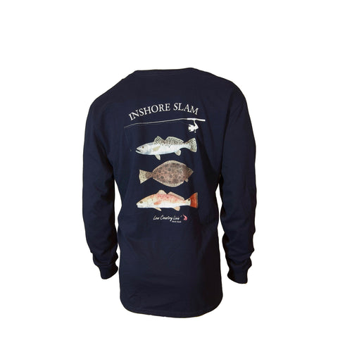 Fishing Shirts In Shore Slam L/S Cotton