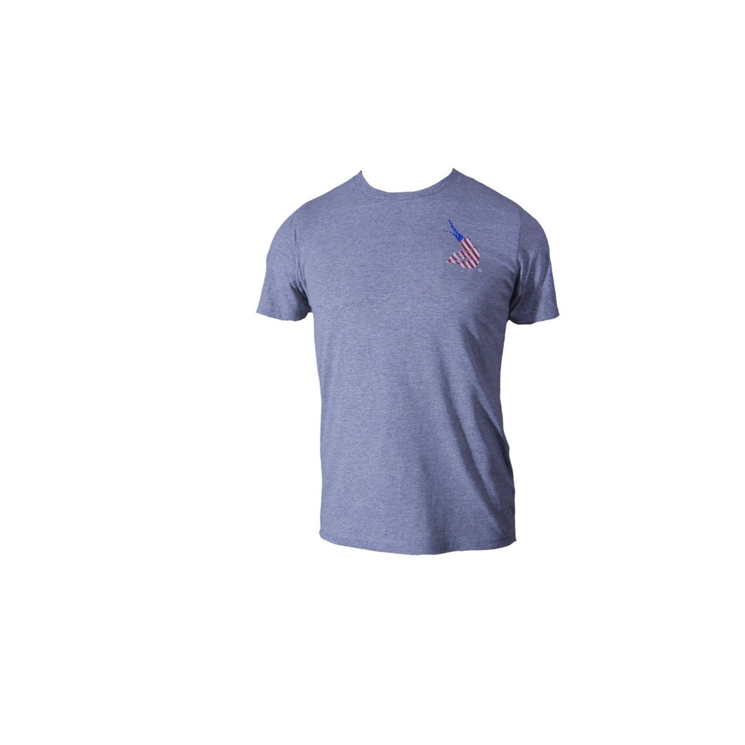 Youth USA Old Glory Tee - Gray