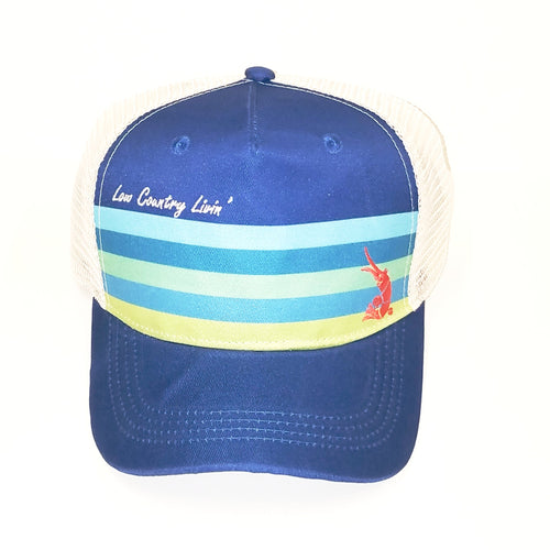 Hat Mesh - Bright Stripe