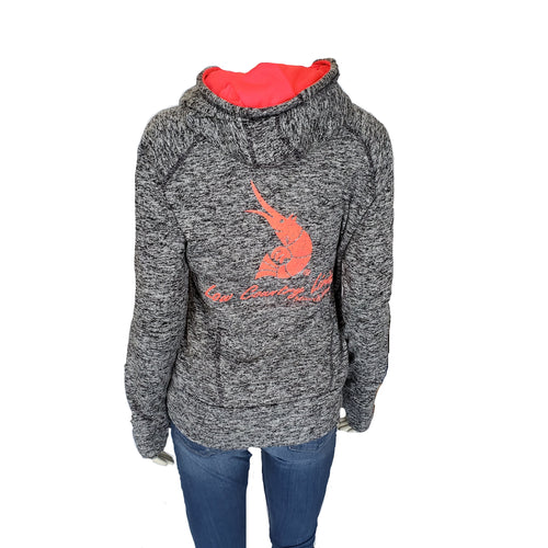 Ladies' Hoodies - Charcoal