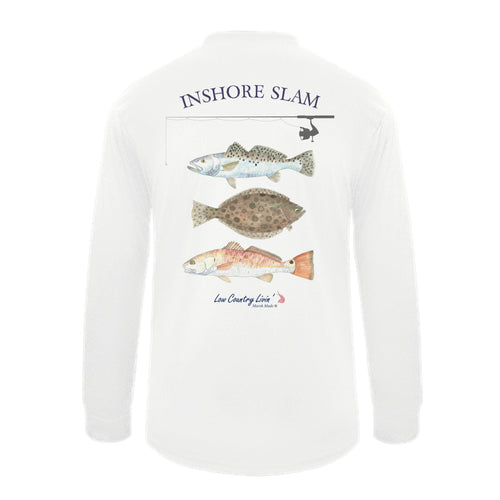 Fishing Shirts In Shore Slam L/S SPF 50