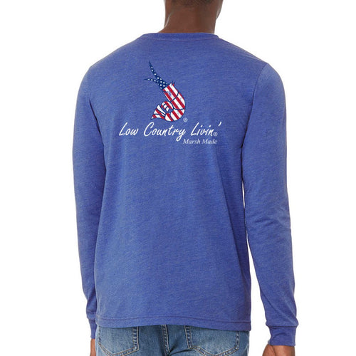 Tee USA Old Glory L/S Cotton