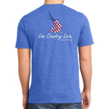 Tee USA Old Glory - Heather Navy