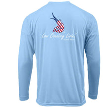 Fishing Shirt Old Glory L/S SPF 50