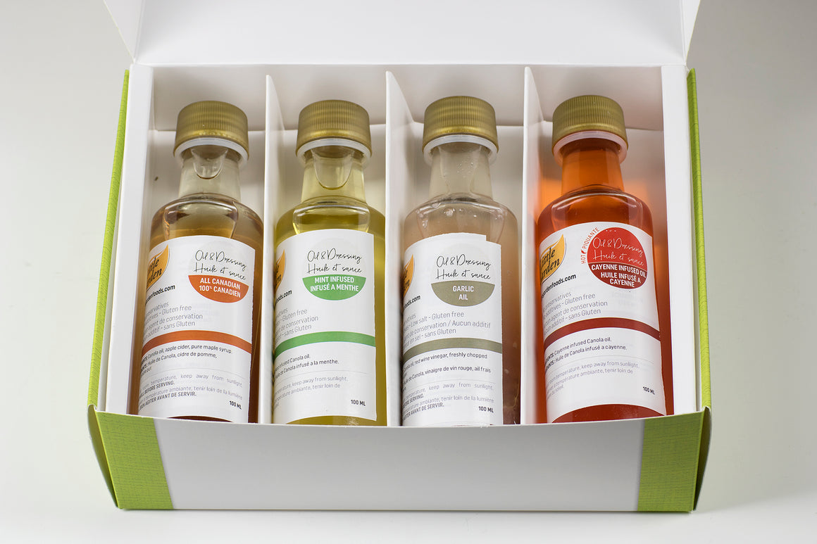 infused oils and dressings
